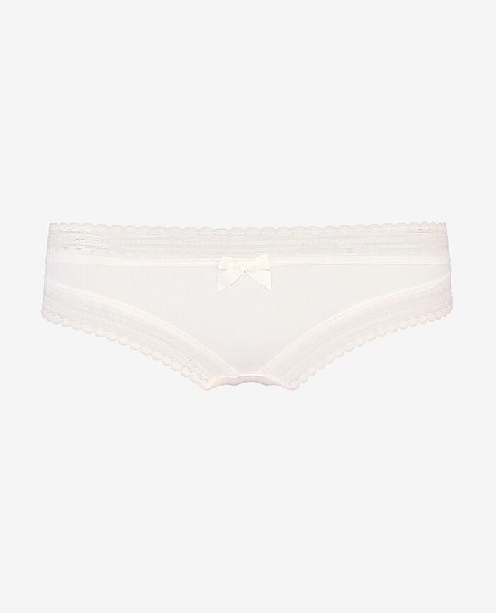 Culotte taille basse Blanc rosé Beaute