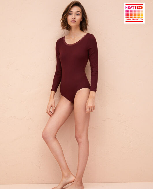 Body Rouge cassis Lovely