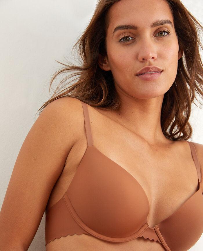 Contour push-up bra Nutmeg brown Secret