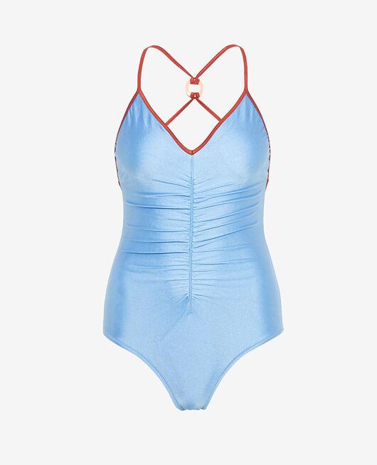 Maillot de bain une pièce Bleu nalin Vacanze