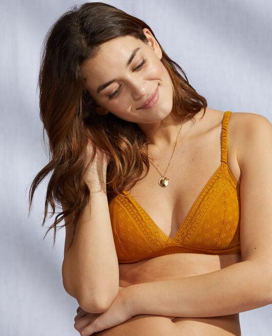 Soft cup padde bra Cumin yellow Simone