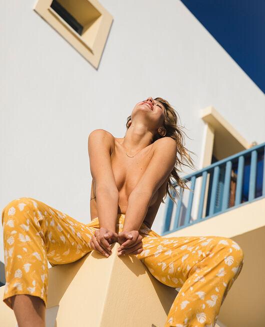 Pantalon de pyjama Hammam jaune Bahia