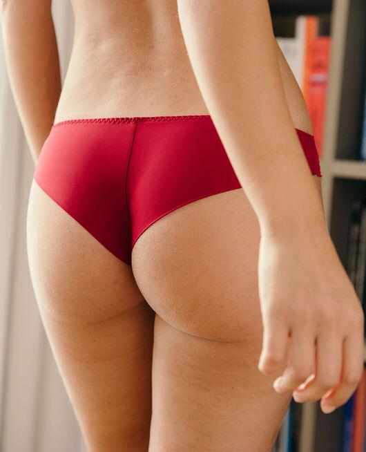 Tanga Camelia red Chic