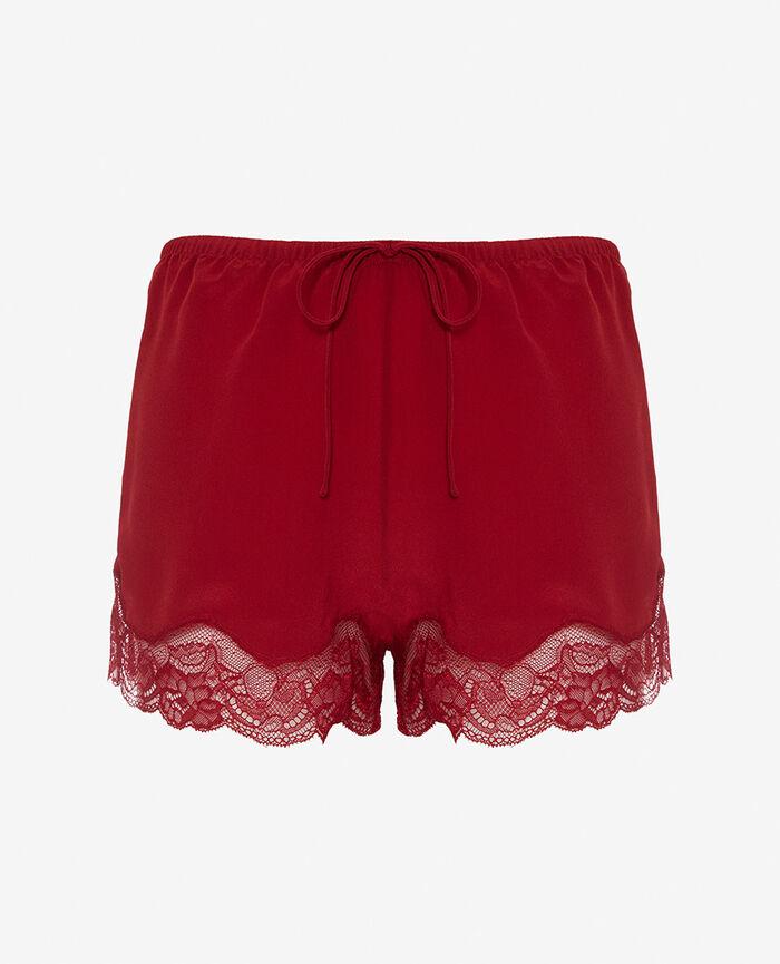 Short de pyjama Rouge goji Divine