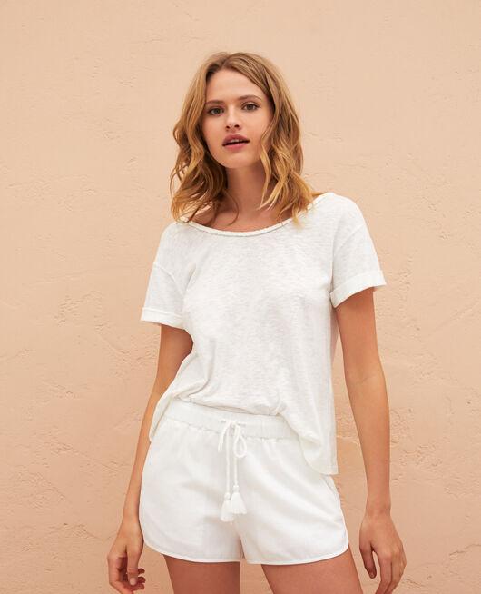 Shorts Ivory Medina