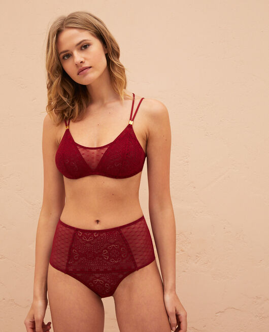 Soft cup bra Henne brown Atlas