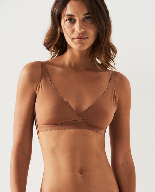 Soft cup bra Nutmeg brown Secret