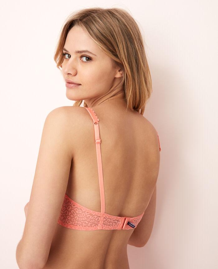 Soutien-gorge triangle avec armatures Pamplemousse rose Belle