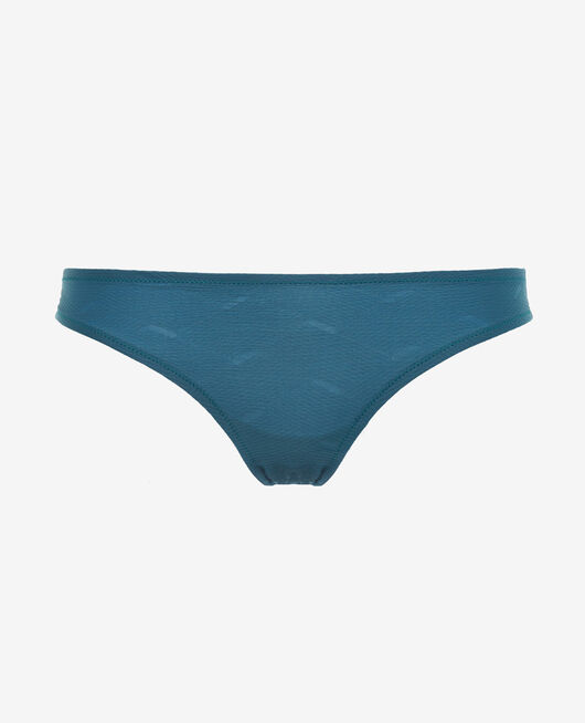 High-cut bikini briefs Emerald green Niala
