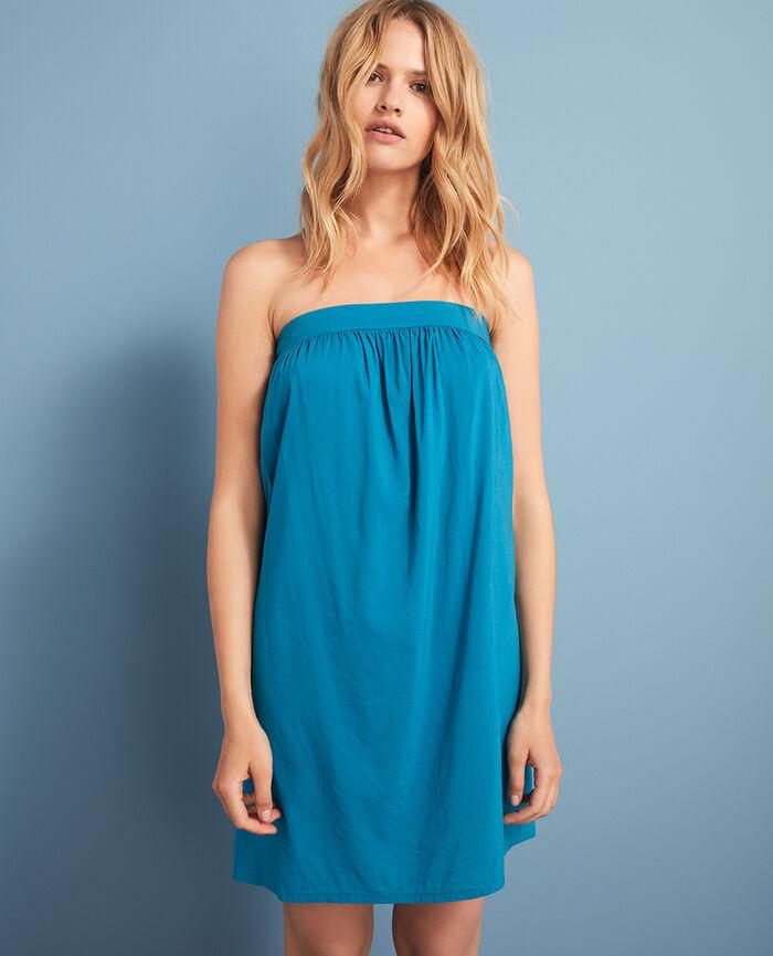 Robe Bleu éole Mix & match