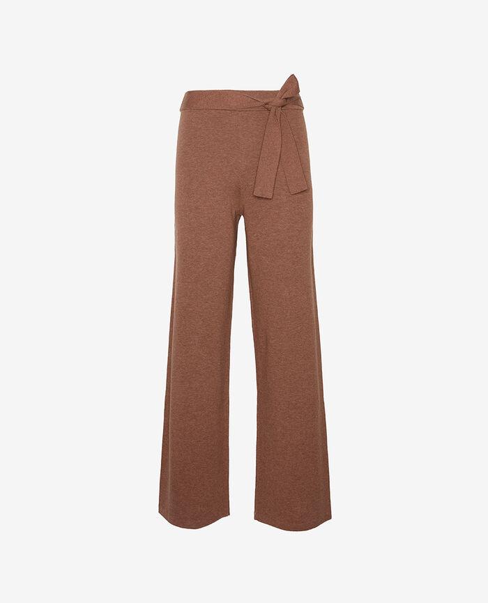 Pantalon Brun muscade Naturel