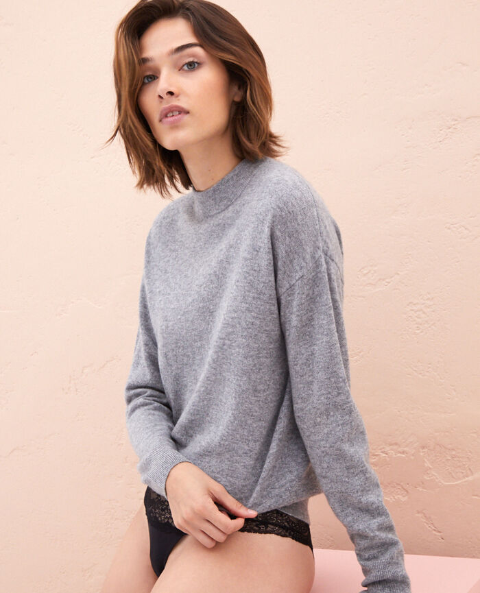 Pull Gris Icone
