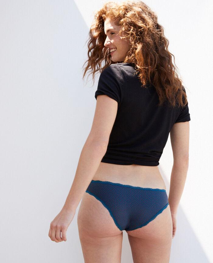 Culotte taille basse Pois bleu Take away