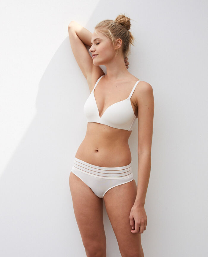 Spacer soft-cup bra Rose white Air lingerie