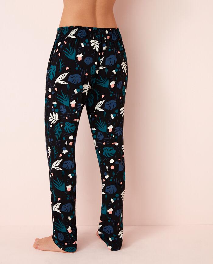 Pyjama trousers Veggie black Darling