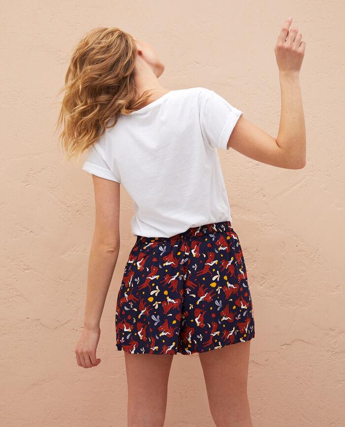 T-shirt manches courtes Agathe léo Feline