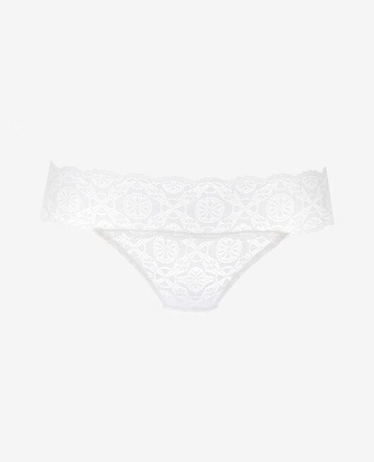 High-cut briefs Rose white Lolita