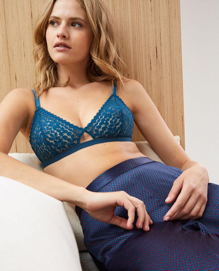 Soft cup bra Jazz blue Monica