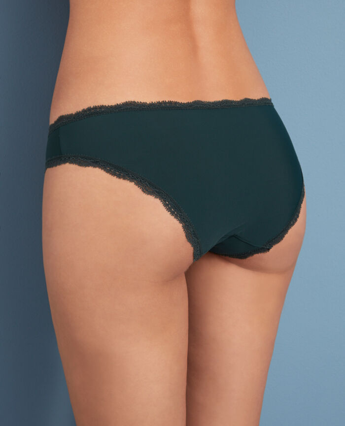 Culotte taille basse Vert story Take away