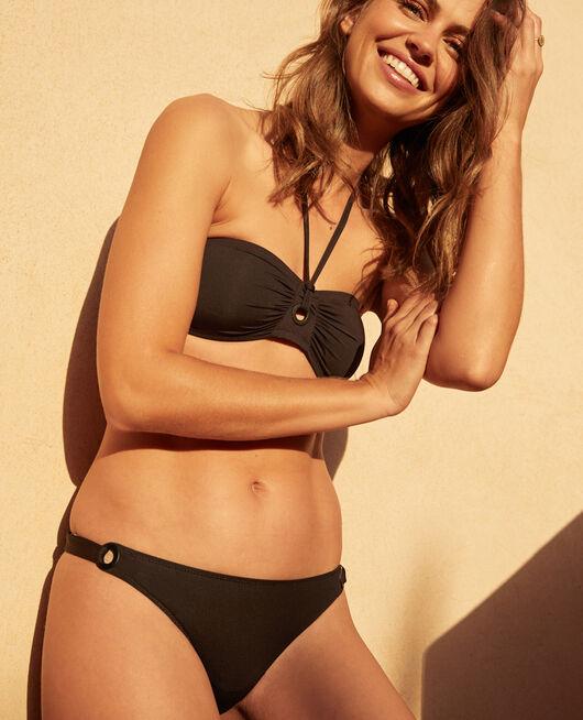 Culotte de bain bikini Noir Impala