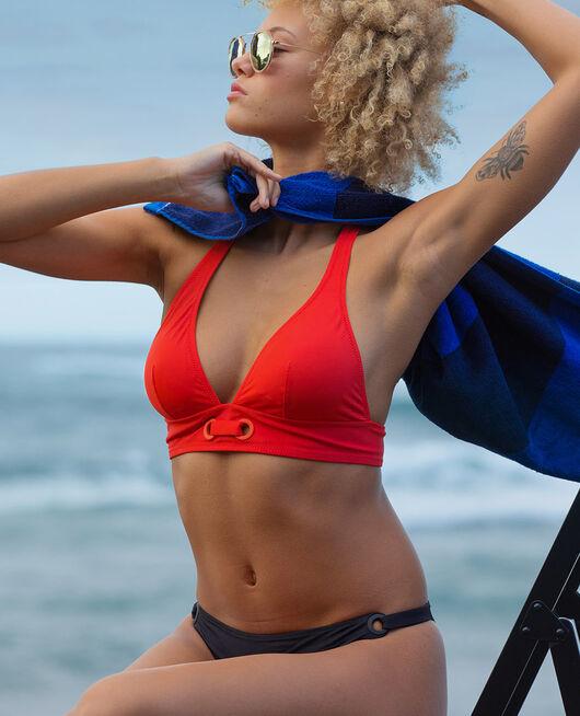 Padded triangle bikini top Pamela red Impala