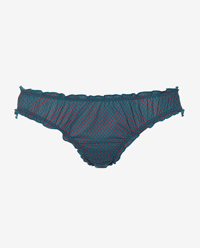 Culotte froufrou Pois bleu Take away