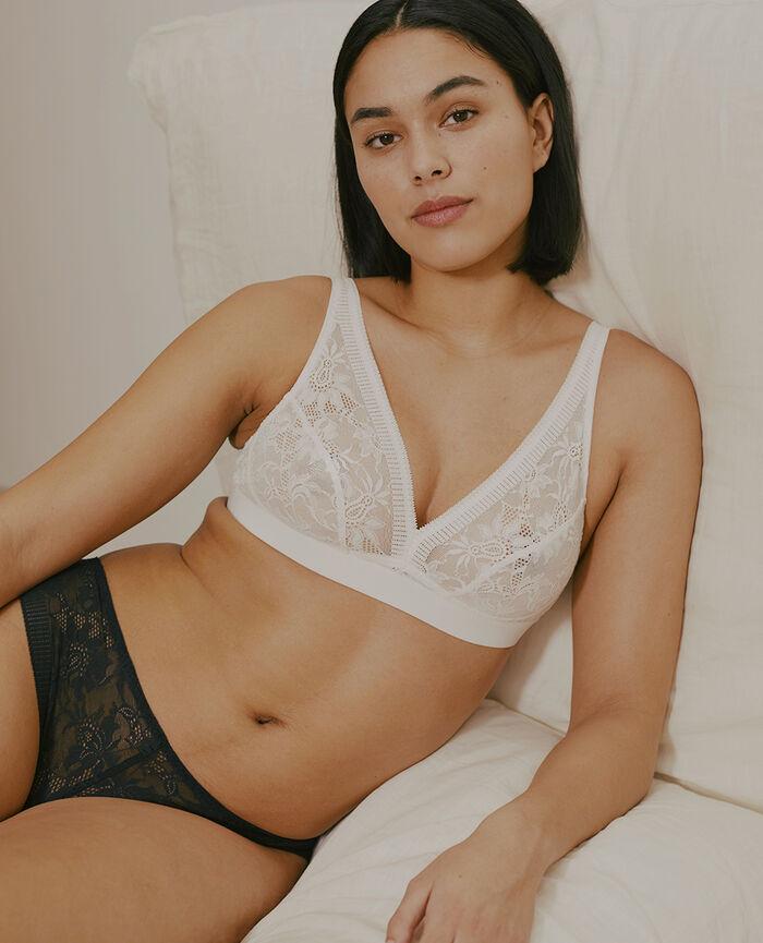 Soft cup bra Ivory Audacieusement - the feel good