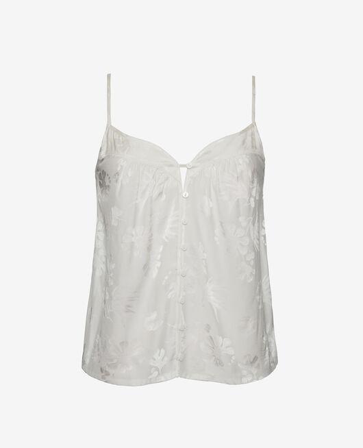 Pyjama cami Rose white Menara