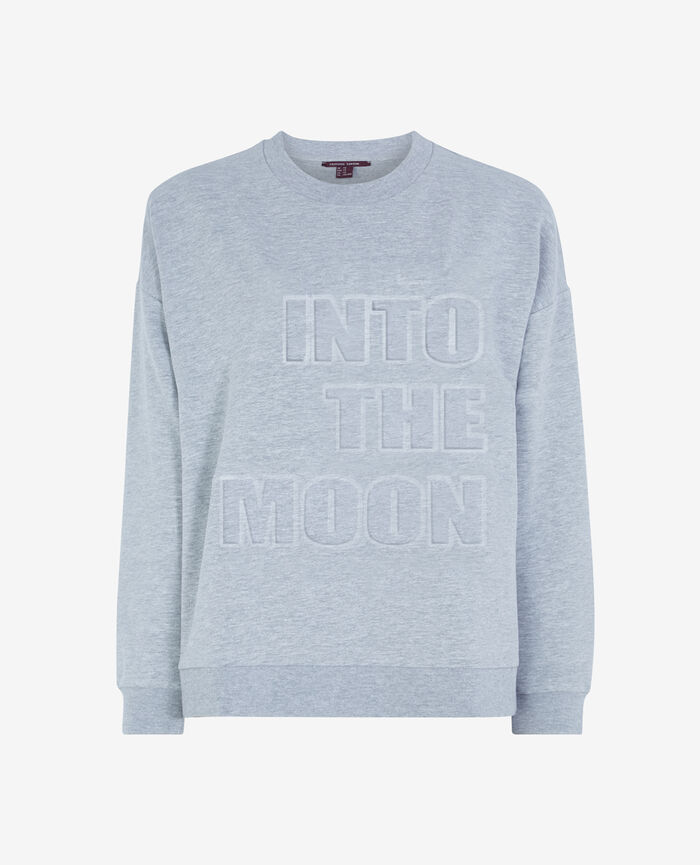 Sweater Flecked grey Sweat collection