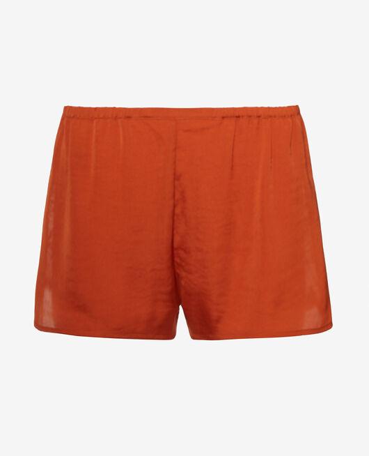 Pyjama shorts Cognac brown Minuit