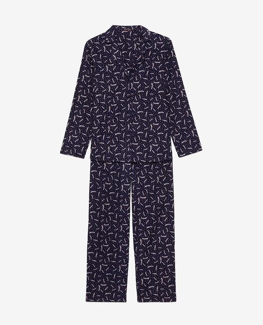 Set pyjama Plume bleu marine Dodo