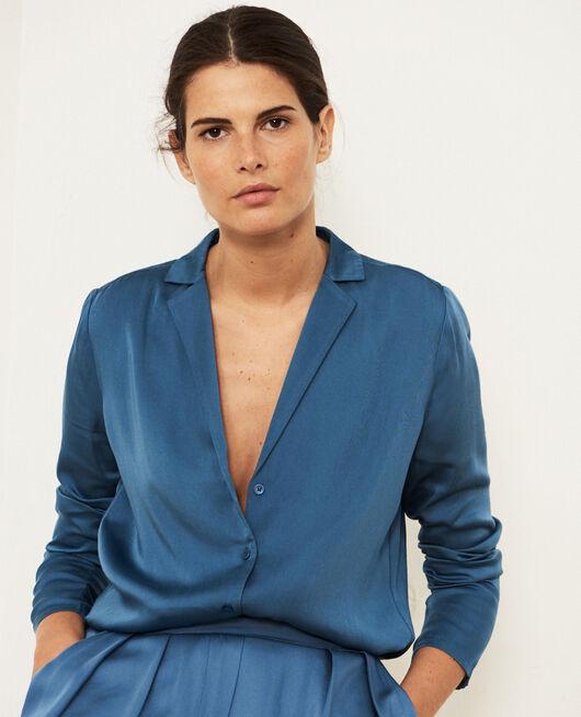 Veste de pyjama Bleu orage Attitude