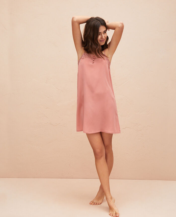 Straight nightie Dune pink Divine