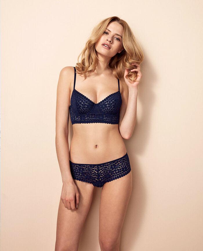 Shorty brésilien Bleu marine Monica