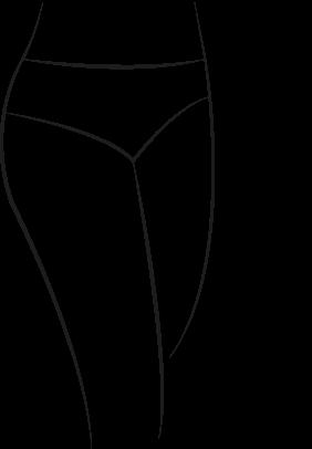 Culotte morphologie hanches fines