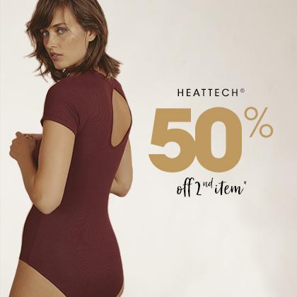 -50% sur le 2ème vêtements chauds femmes Heattech®