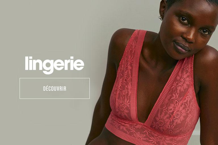Nouveautés lingerie