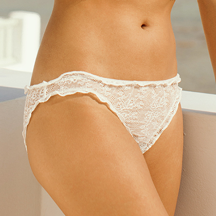 Discover the bridal lingerie