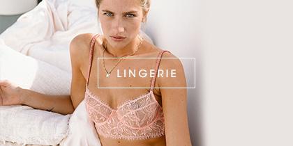 Soldes lingerie femme jusqu'à -50%