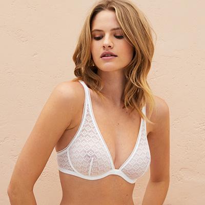 underwire triangle bras