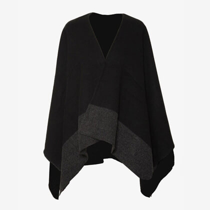 Ponchos and Women's scarves
