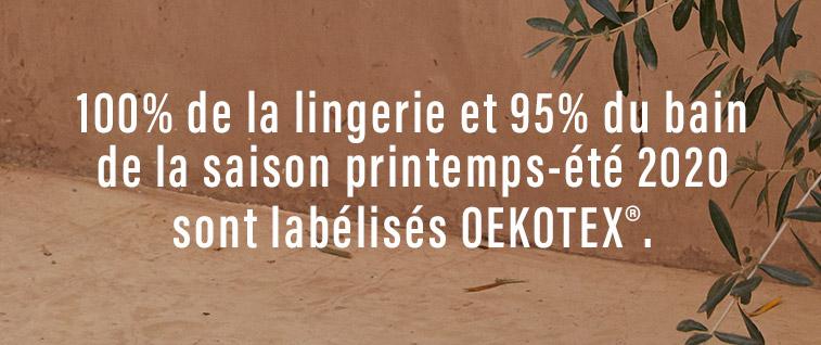 Soutien-gorge bustier MONICA certifié Oeko-Tex®