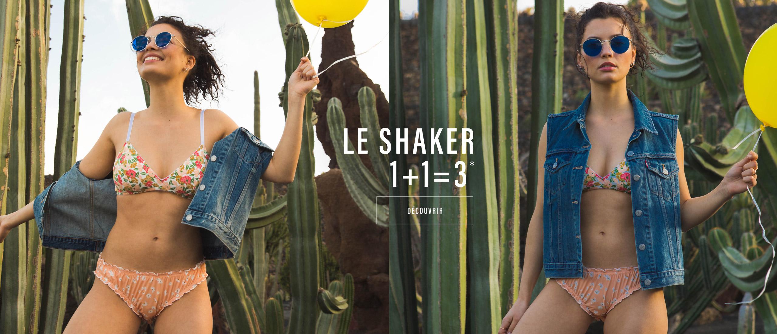 Le shaker : 1+1=3*