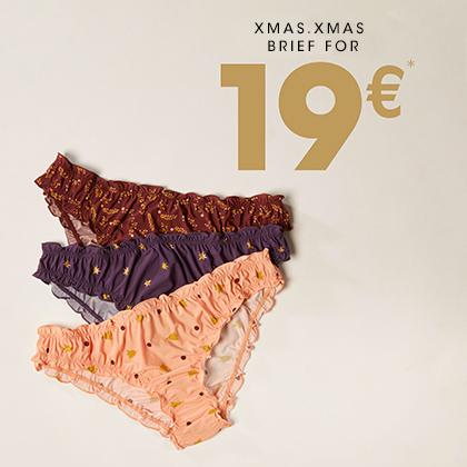 Culotte femme à 19€
