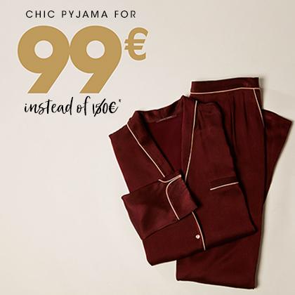 Pyjama chic femme à 99€