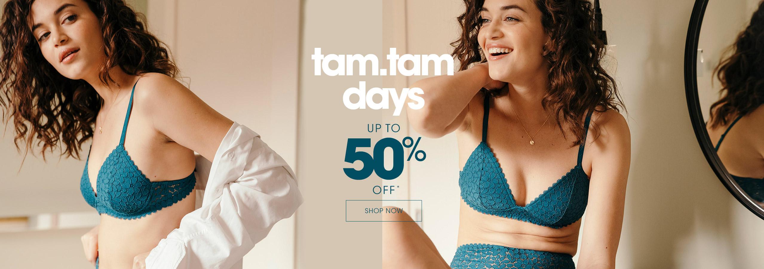 Tam.tam days : up to 50% off