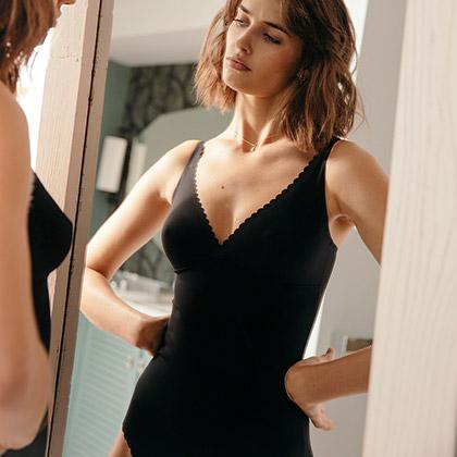 Body femme de lingerie