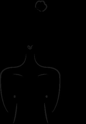 Soutien-gorge poitrine poire