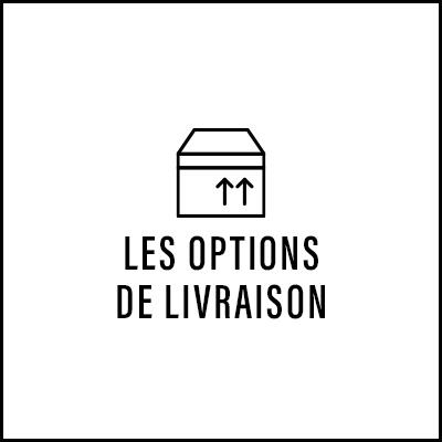 Les options de livraison