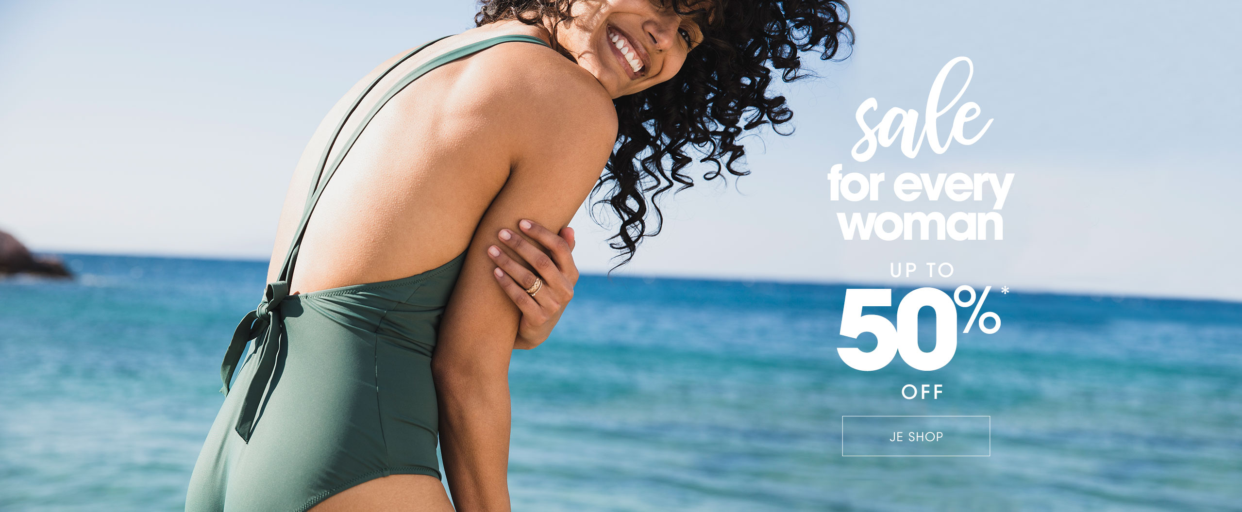 Sale for every woman up to 50% off